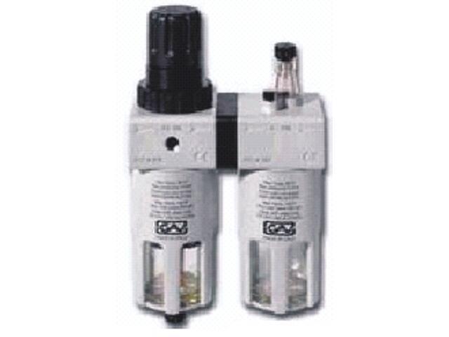 """Reduktor ciśnienia do narzędzi pneumatycznych FRL200 1/2"""" Metabo"""