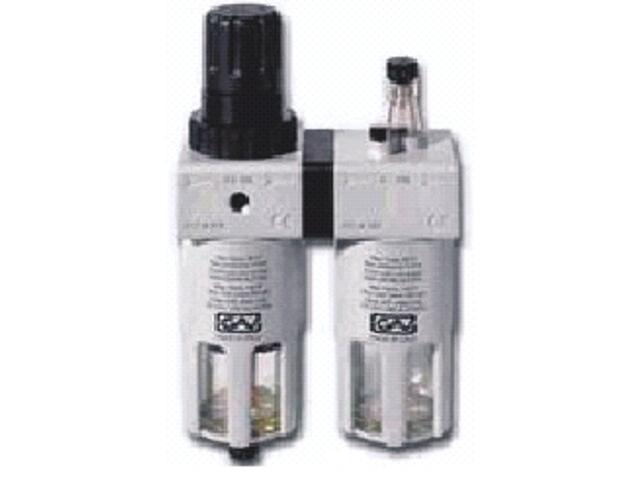 """Reduktor ciśnienia do narzędzi pneumatycznych FRL180 1/4"""" Metabo"""