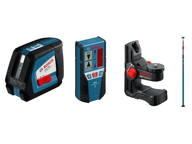 Laser GLL 2-50 + LR2 + BM1 + BT 350 Bosch