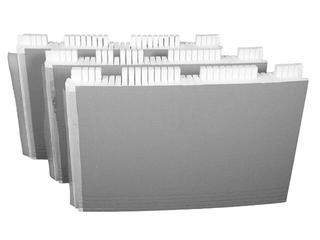 Zabudowa do wanien półokrągłych i prostokątnych z półką 15cm (1.052) Sched-Pol