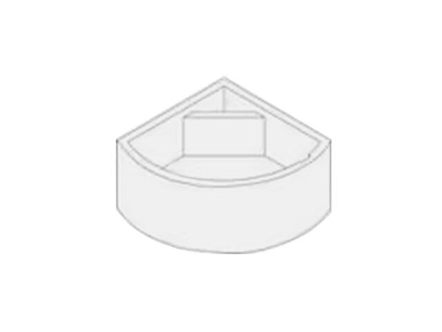 Nośnik wannowy polistyrenowy GENTIANA 150 komplet X03022 Ravak