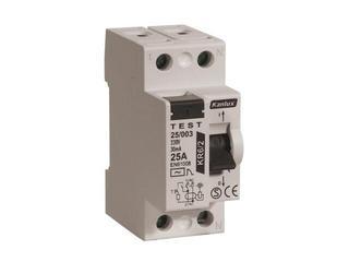 Wyłącznik różnicowoprądowy KR6 25/003/2 Kanlux