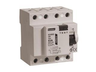 Wyłącznik różnicowoprądowy KR6 63/003/4 Kanlux