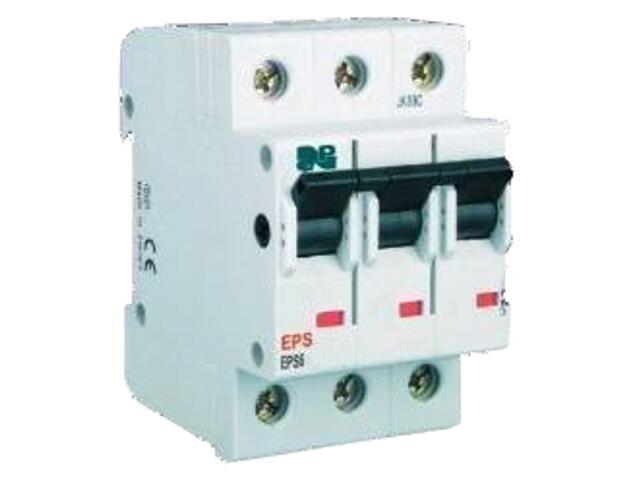 Wyłącznik nadprądowy EPS6-B20/3 Elektro-plast N.