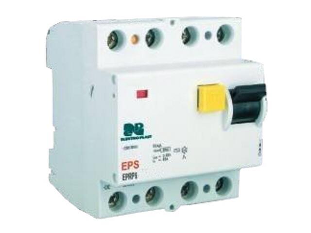 Wyłącznik różnicowoprądowy EPRP6-25/4/0,03 AC Elektro-plast N.