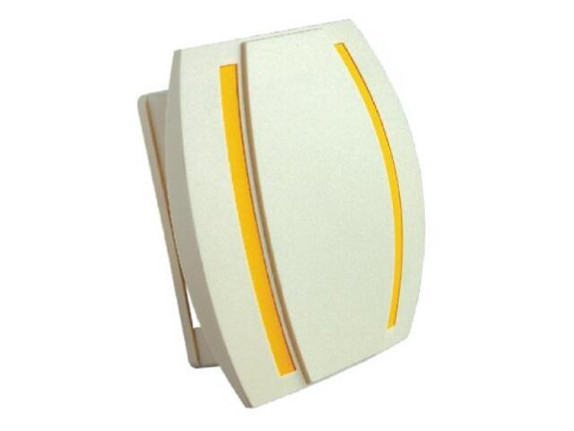 Dzwonek przewodowy KAMELEON, beżowo-żółty Videotronic
