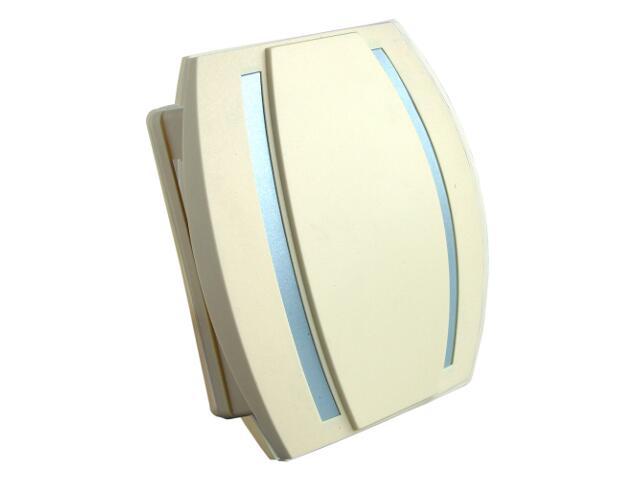Dzwonek przewodowy KAMELEON, beżowo-niebieski Videotronic