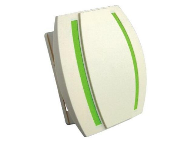 Dzwonek przewodowy KAMELEON, beżowo-zielony Videotronic