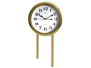 Dzwonek przewodowy rurowy krótki z zegarem 03/RK/Z, dąb Videotronic