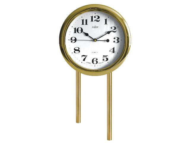 Dzwonek przewodowy rurowy krótki z zegarem 03/RK/Z, wiśnia Videotronic