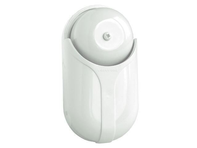 Dzwonek przewodowy STANDARD BIS (czaszowy) 01/B, biały Videotronic