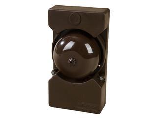 Dzwonek przewodowy czaszowy DNT-001 8V brąz Zamel