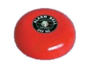 Dzwonek przewodowy przemysłowo-szkolny CB-6B czerwona czasza 150mm Videotronic