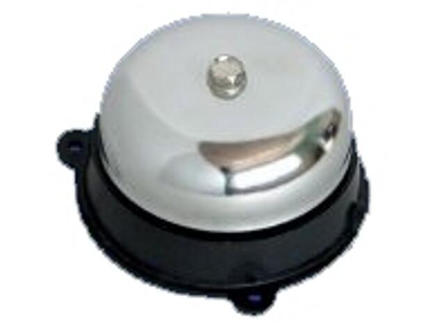 Dzwonek przewodowy STANDARD z czaszą niklowaną 75mm UC4 Videotronic