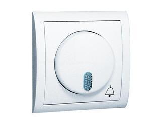 Dzwonek elektroniczny Classic sieciowy 230V MDS1/11 biały Kontakt Simon