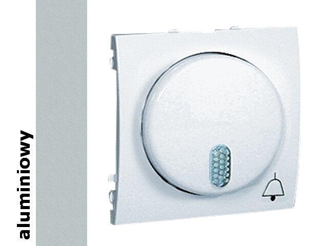 Łącznik modułowy Classic sieciowy 230V MDS1.01/26 aluminium srebrny Kontakt Simon