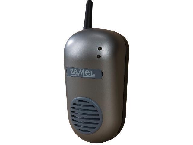 Dzwonek bezprzewodowy BULIK DRS-982 230V srebrny Zamel