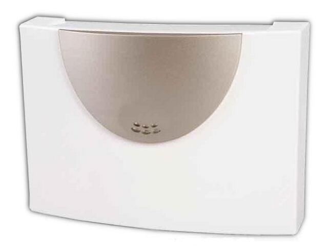 Dzwonek przewodowy RECORDER DNU-210 8-230V srebrny Zamel