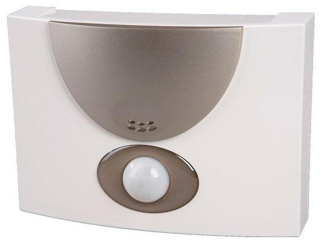 Dzwonek przewodowy HOSTESSA DNU-215 8-230V srebrny Zamel