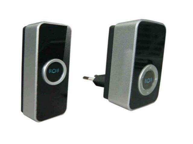 Dzwonek bezprzewodowy WDP-08A9 32 melodie z polifonią 24 przycisk IP 44 Eura-Tech