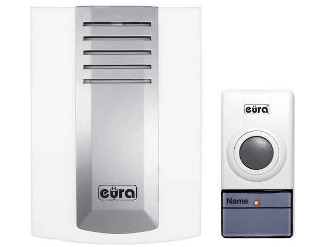 Dzwonek bezprzewodowy WDP-04A3 zasilanie bateryjne Eura-Tech