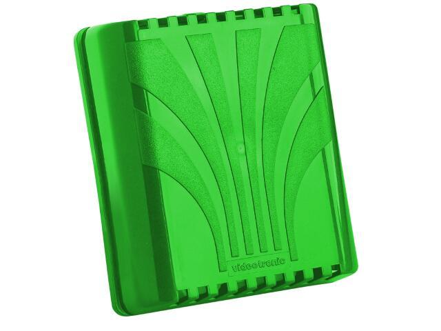 Dzwonek przewodowy DWUTONOWY PLUS typ dźwięku bim-bam 03/P, zielony Videotronic