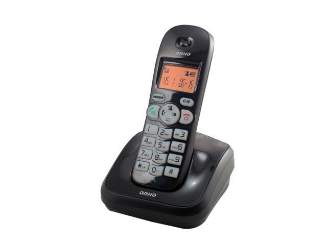 Słuchawka do domofonu z bazą do rozbudowy tele-domofonu OR-DOM-CL-910 czarna Orno