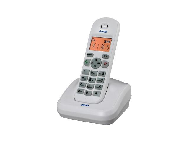 Słuchawka do domofonu z bazą do rozbudowy tele-domofonu OR-DOM-CL-910 biała Orno