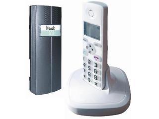 Domofon 2w1 (domofon i telefon) bezprzewodowy CL-3622W biały Eura-Tech