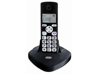 Słuchawka do domofonu z bazą do tele-domofonu CL-3622 czarny Eura-Tech