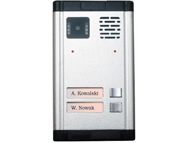Kaseta bramowa D4-2 do wideodomofonu serii SD Eura-Tech
