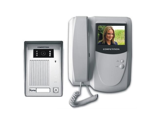 Videodomofon kolorowy 4'' LCD MT200C-CK2+SAC35C-CK Competition