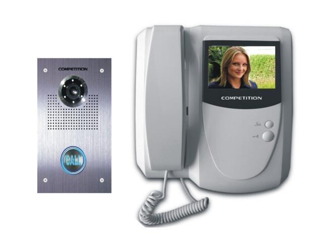 Videodomofon kolorowy 4'' LCD MT200C-CK2+SAC551C-CK Competition