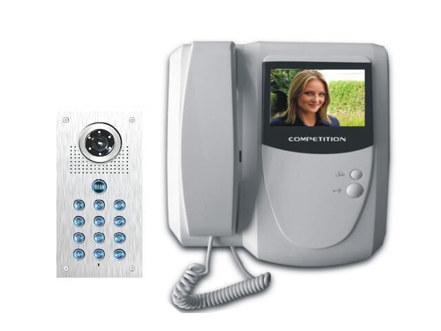 Videodomofon kolorowy 4'' LCD + zamek szyfrowy MT200C-CK2+SAC561C-CK Competition