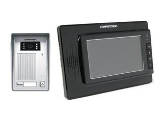 Videodomofon kolorowy 7'' LCD głośnomówiący MT320C-CK2-B+SAC35C-CK Competition