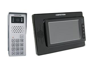 Videodomofon kolorowy 7'' LCD głośnom. + zamek szyfr. MT320C-CK2B+SAC50C-CK Competition