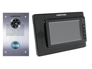 Videodomofon kolorowy 7'' LCD głośnomówiący MT320C-CK2B+SAC551C-CK Competition