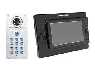 Videodomofon kolorowy 7'' LCD głośnom. + zamek szyfrowy MT320C-CK2-B+SAC561C-CK Competition