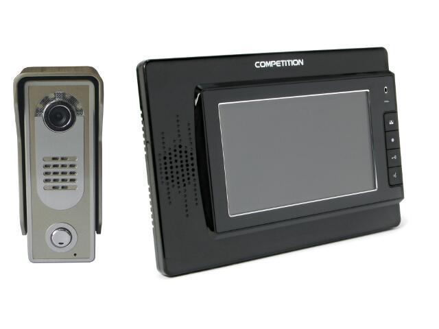 Videodomofon kolorowy 7'' LCD głośnomówiący MT320C-CK2B+SAC5C-CK Competition