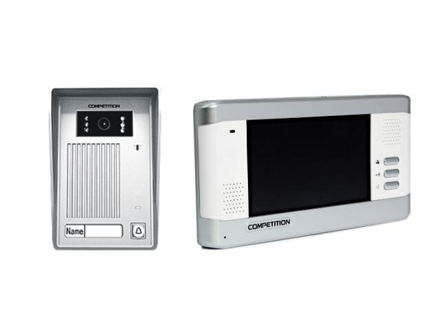 Videodomofon kolorowy 5,8'' LCD głośnomówiący MT350C-CK2+SAC35C-CK Competition