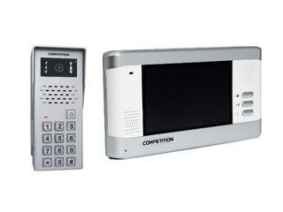 Videodomofon kolorowy 5,8'' LCD głośnomówiący + zamek szyfrowy MT350C-CK2+SAC50C-CK Competition