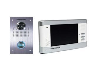Videodomofon kolorowy 5,8'' LCD głośnomówiący MT350C-CK2+SAC551C-CK Competition
