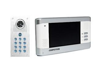 Videodomofon kolorowy 5,8'' LCD głośnomówiący + zamek szyfrowy MT350C-CK2+SAC561C-CK Competition