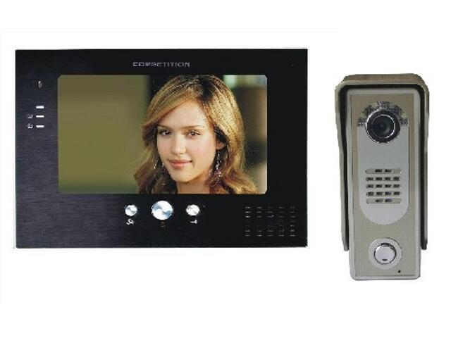 Videodomofon kolorowy 7'' LCD głośn. panor. MT373C-K2+SAC5C-K2 Competition