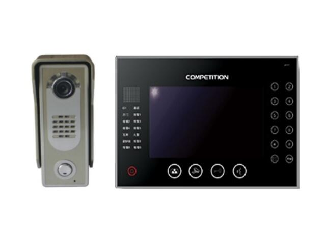 Videodomofon kolorowy 7'' LCD głośn. panor. dotykowy MT670C-CK2W+SAC5C-CK Competition