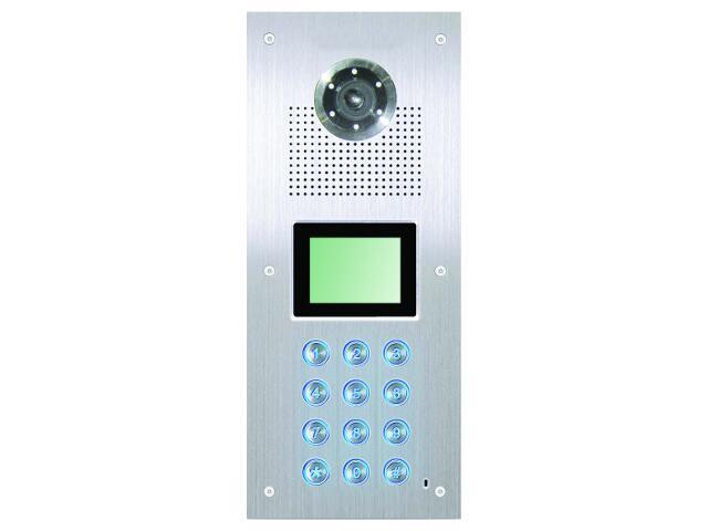 Kaseta bramowa cyfrowa podrzędna do wideodomofonu z kamerą SAC551C-AL. Competition