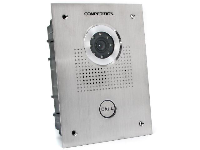 """Kaseta bramowa do wideodomofonu z kamerą 1/3"""" SAC551C-CK Competition"""