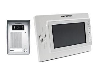 Videodomofon kolorowy 7'' LCD głośnomówiący MT320C-CK2W+SAC35C-CK Competition
