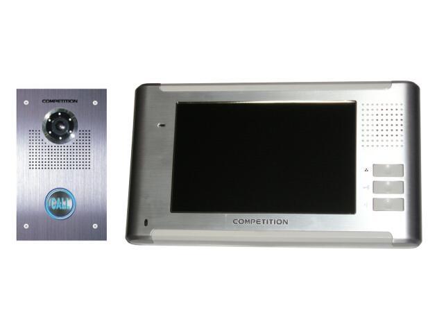 Videodomofon kolorowy 7'' LCD głośnom. panoram. MT337C-CK2+SAC551C-CK Competition