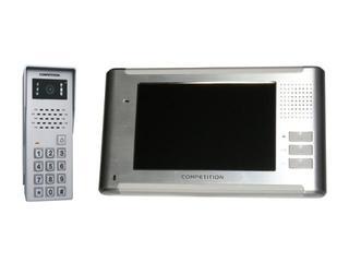 Videodomofon kolorowy 7'' LCD głośnom. panoram. + zamek szyfr. MT337C-CK2+SAC50C-CK Competition